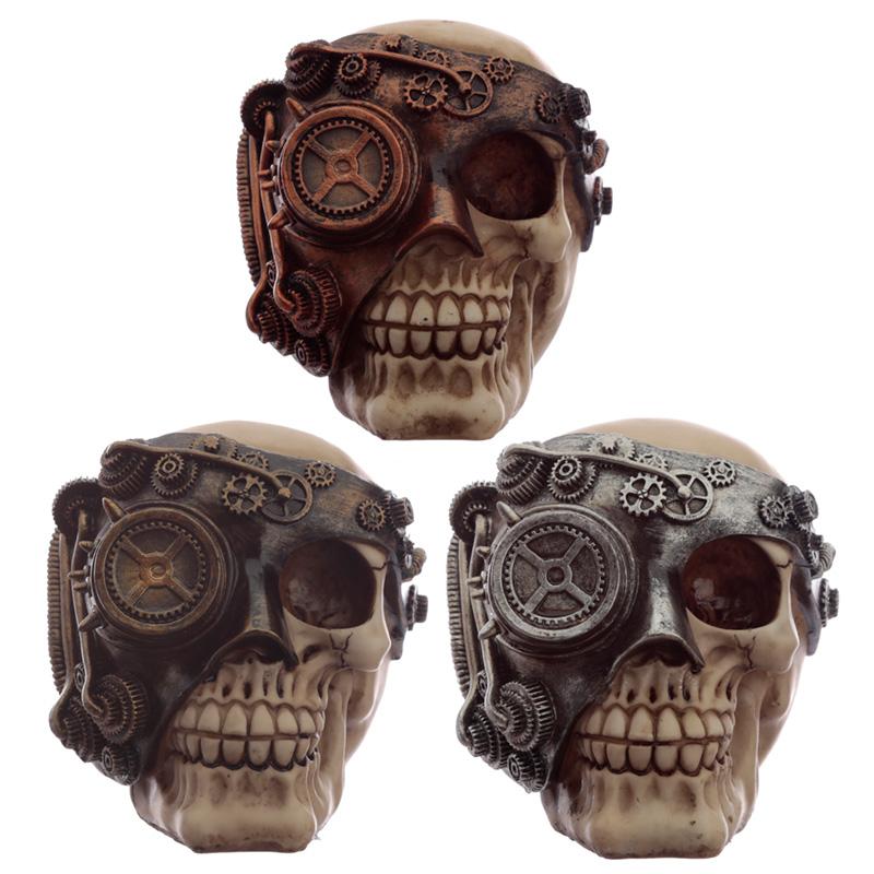 Fantasy Steampunk Skull Ornament