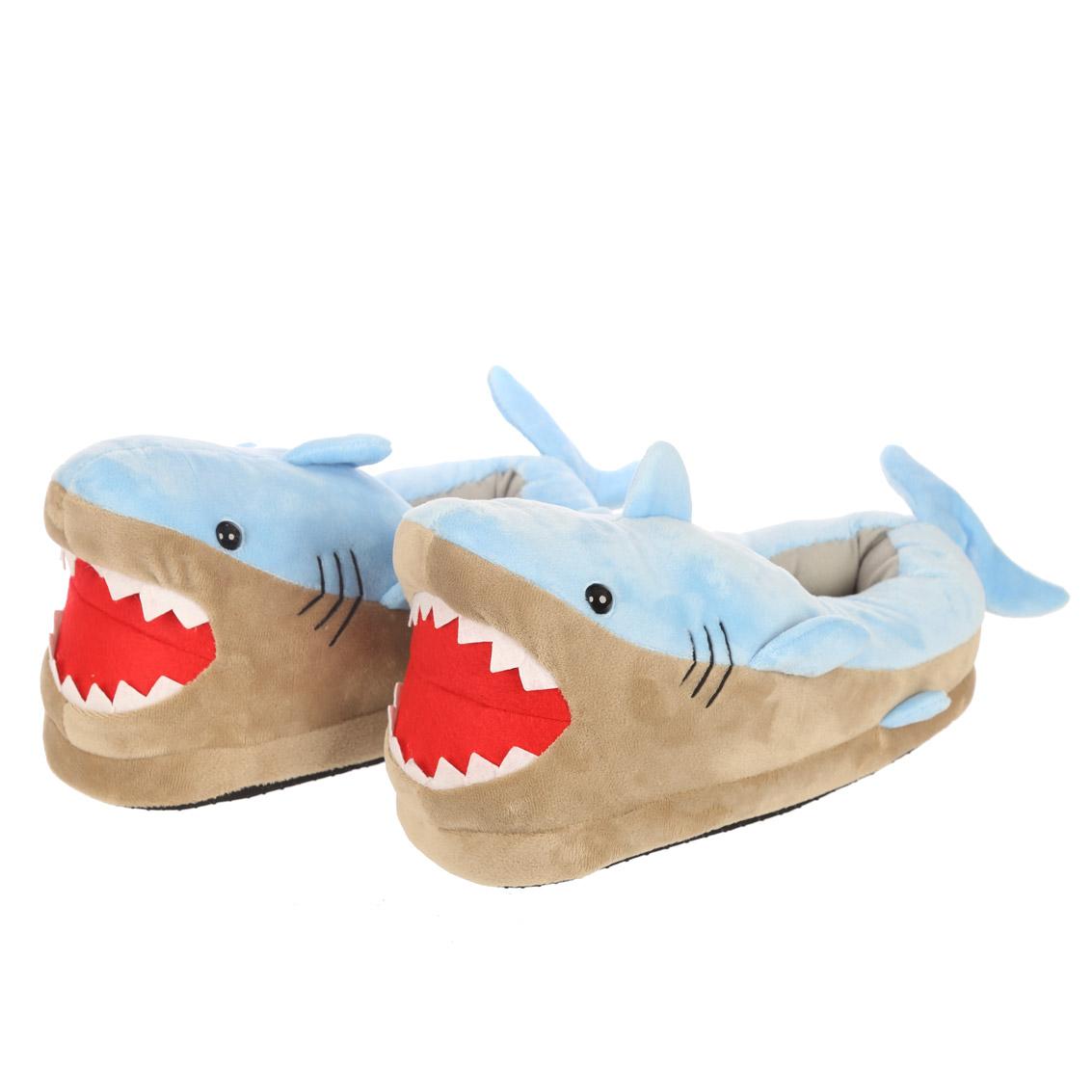 Shark Pair of Unisex Slippers