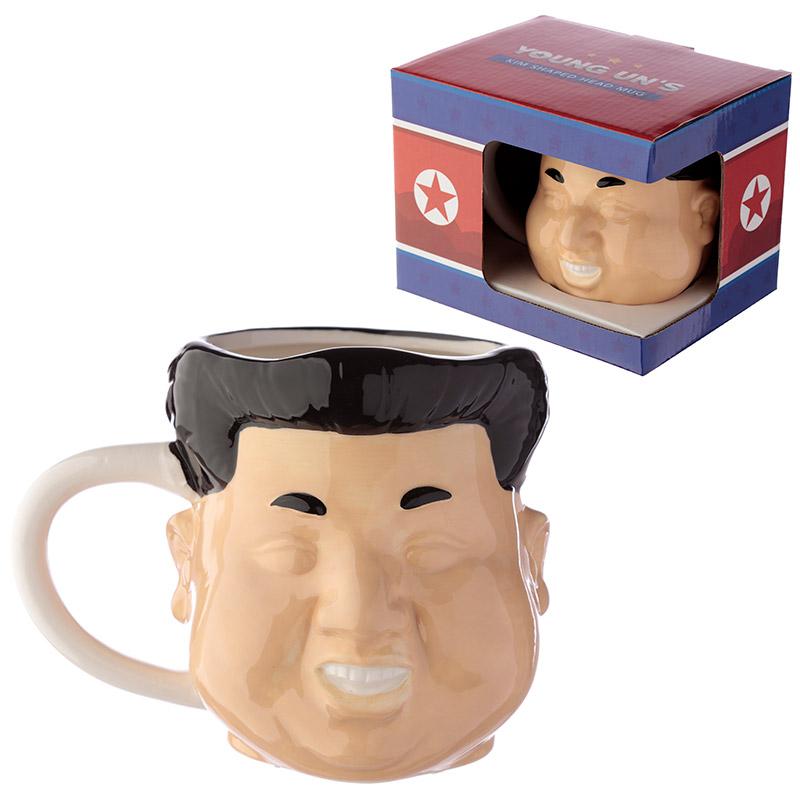 Novelty Ceramic Shaped Head Mug Rocket Man