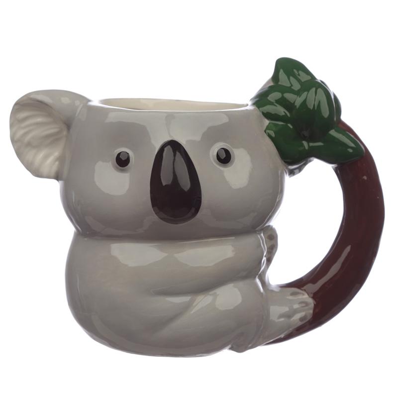Fun Ceramic Koala Shaped Mug