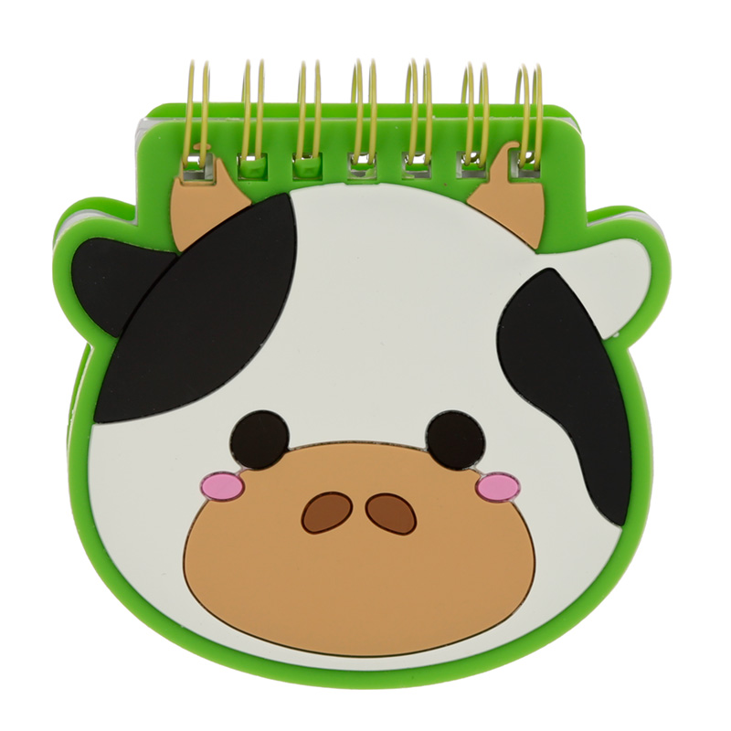 Cutiemals Farm Shaped PVC Notepad
