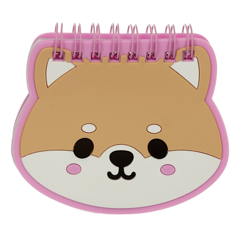 Cutiemals Pet Shaped PVC Notepad