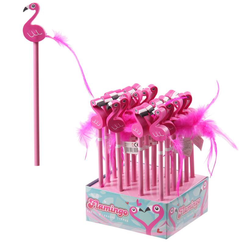 Novelty Pink Flamingo Pencil