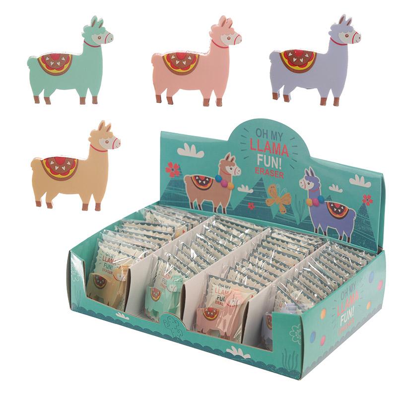 Cute Llama Design Eraser