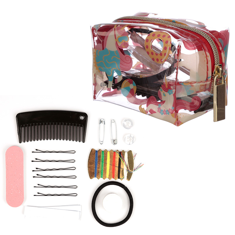Handy Emergency Travel Kit Vacation Unicorn Design