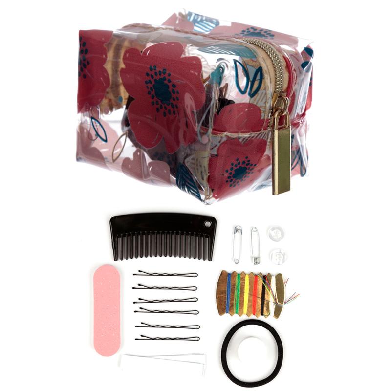 Handy Emergency Travel Kit Poppy Fields
