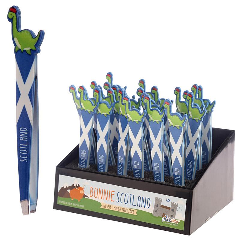 Fun Nessie Design Scotland Tweezers
