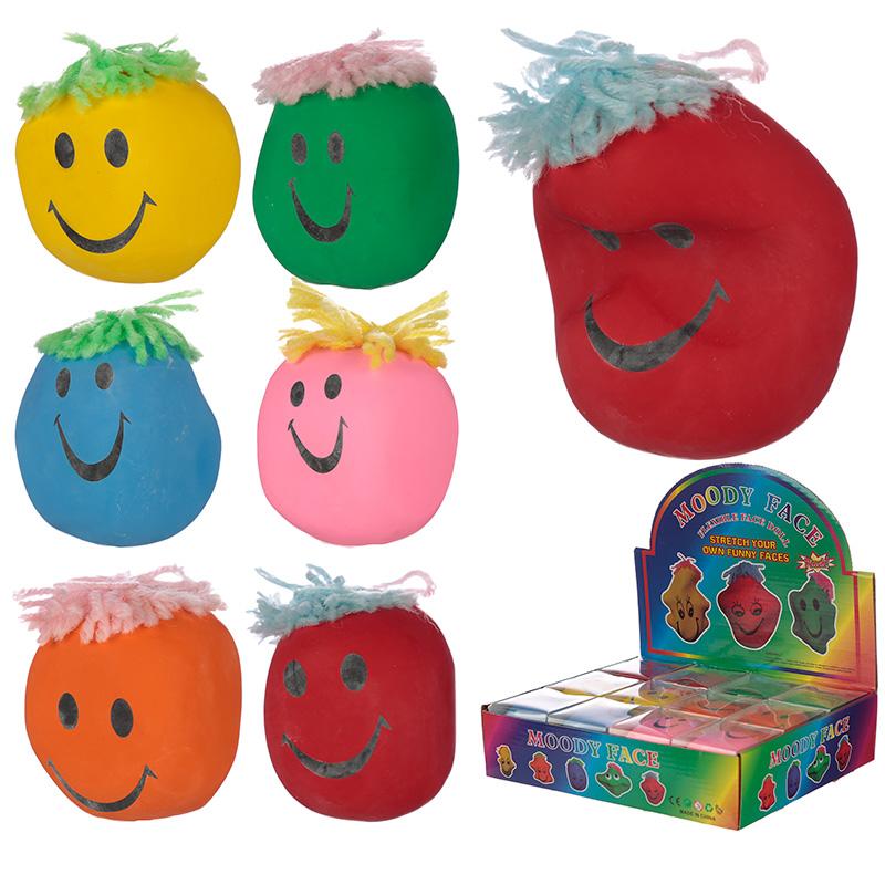 Fun Kids Squeezy Mood Head