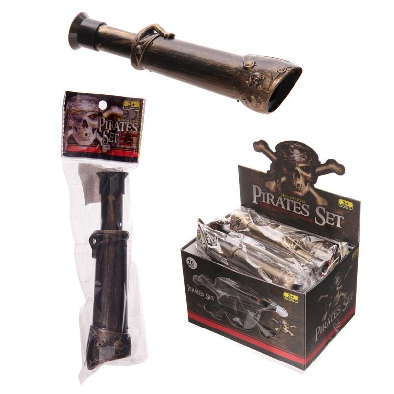 Fun Kids Plastic Novelty Pirate Telescope