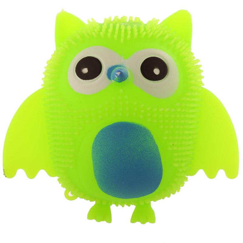 Squishy Owl : Fun Kids Squishy Light Up Novelty Owl - 13707 Puckator Dropship UK