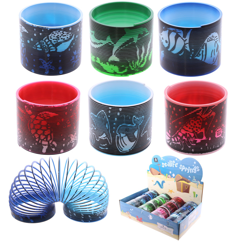 Fun Novelty Sealife Magic Spring