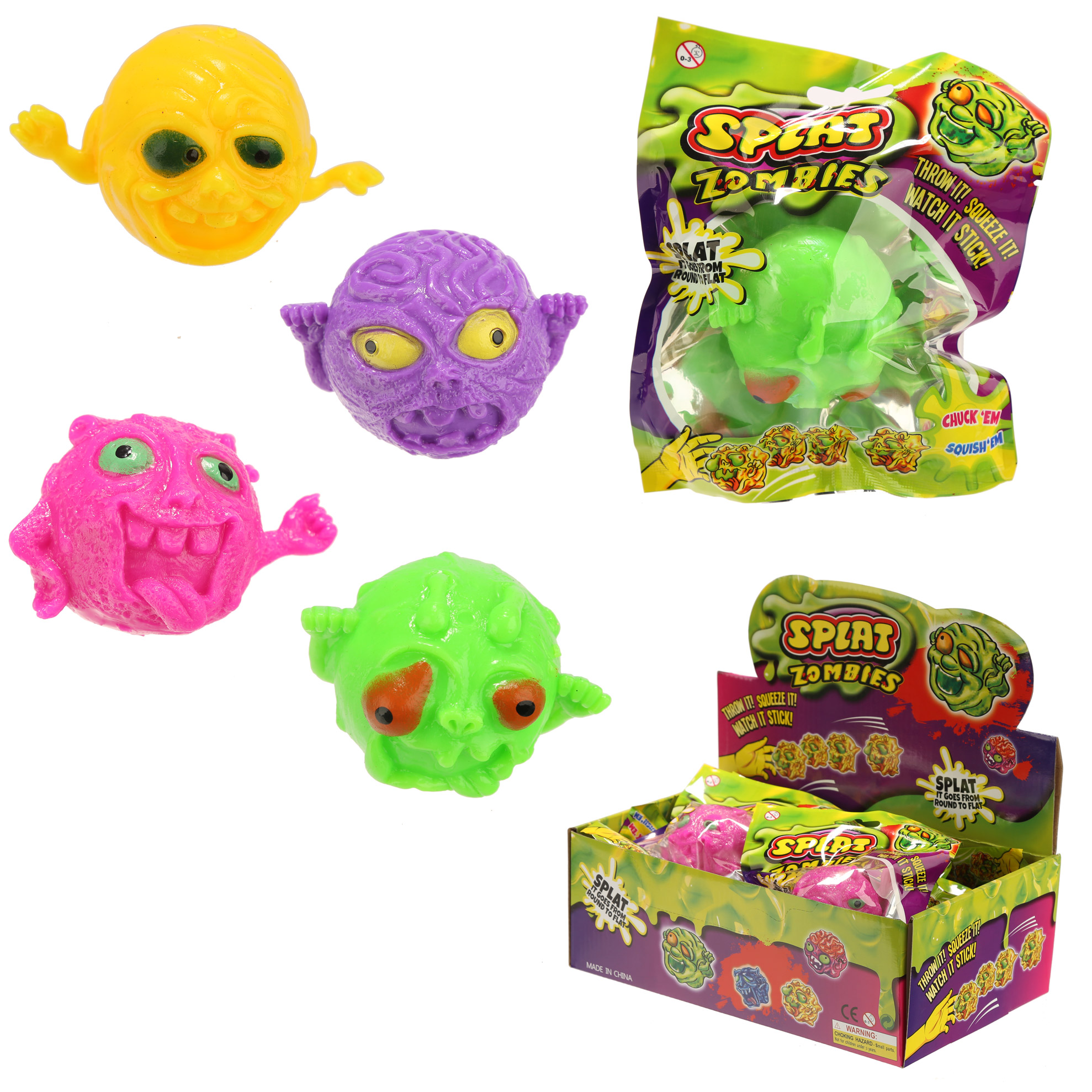 Fun Kids Splat Monster Ball