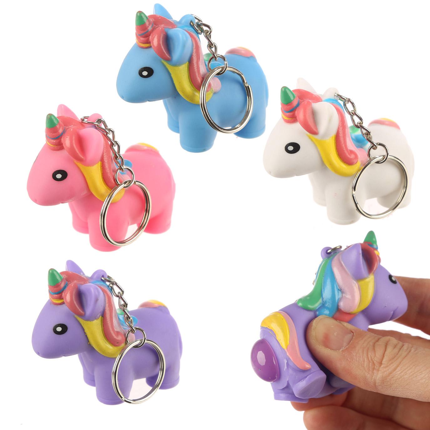Fun Kids Pooping Unicorn Keyring