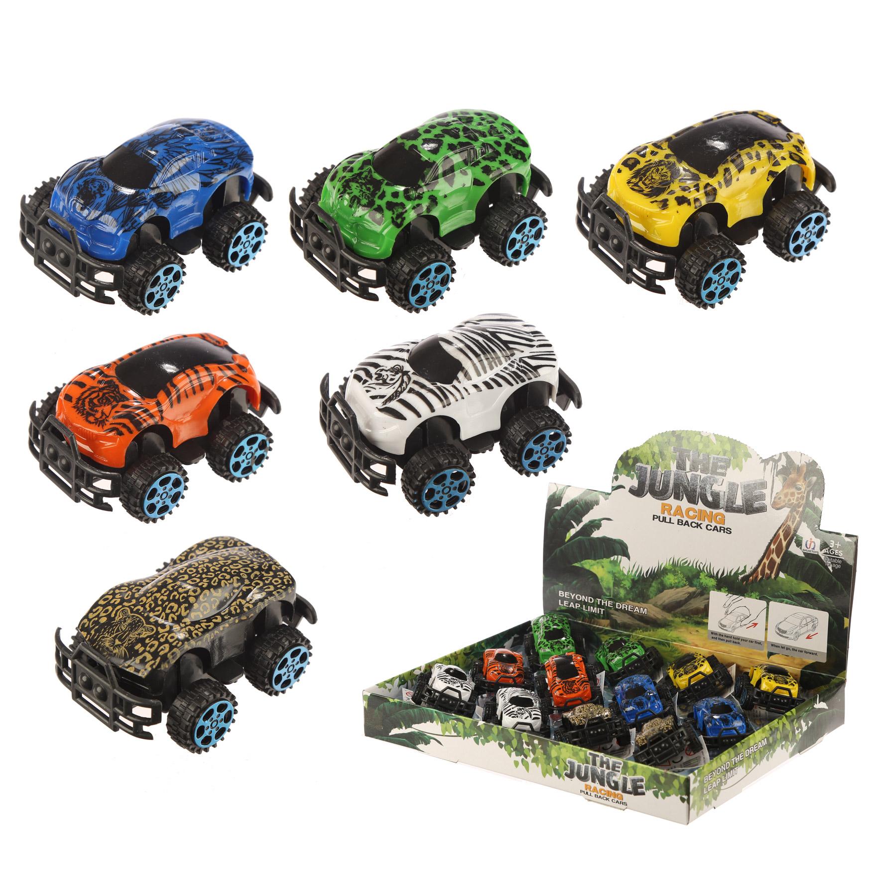 Fun Kids Push Along Jungle Car