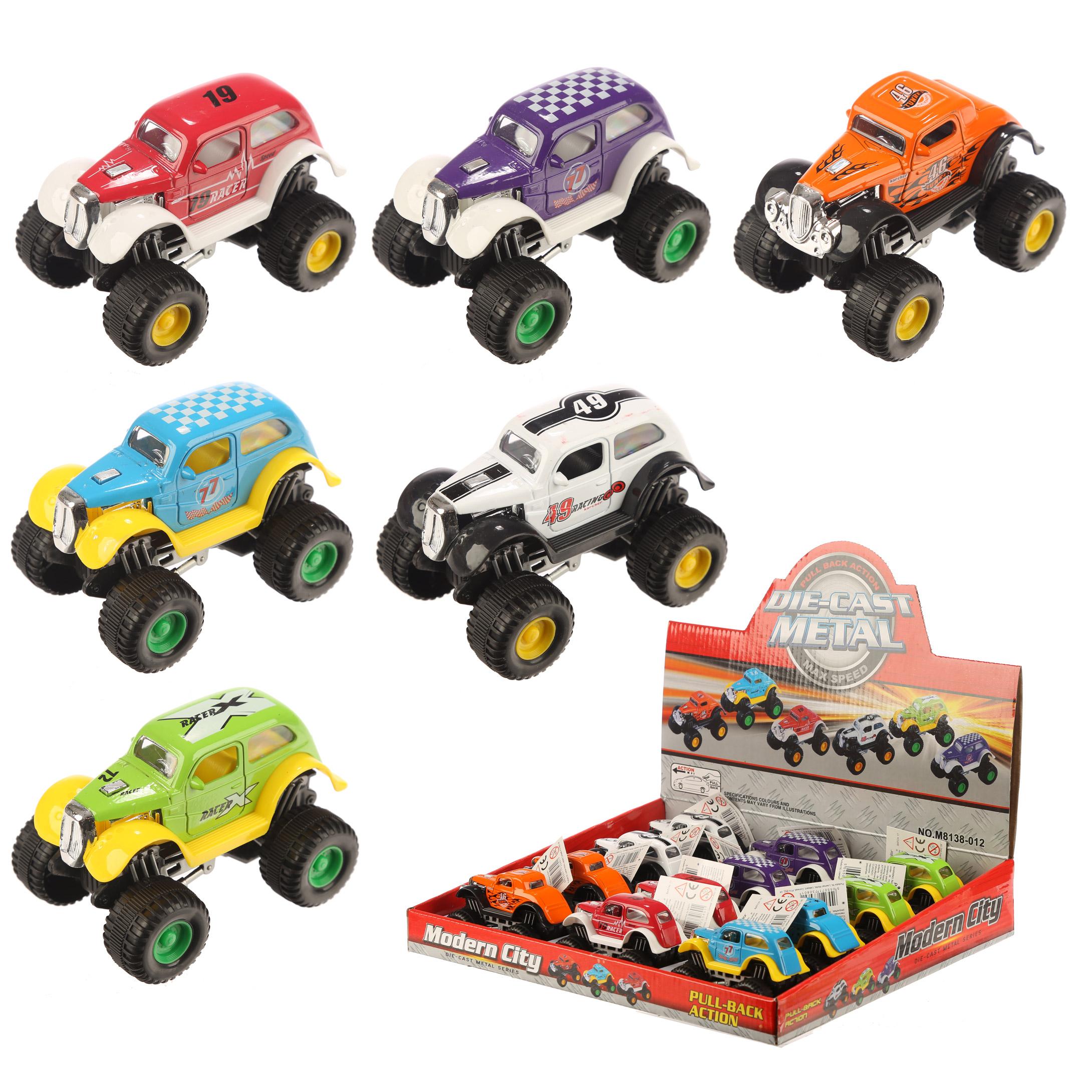 Fun Kids Push Along Crazy Racing Car