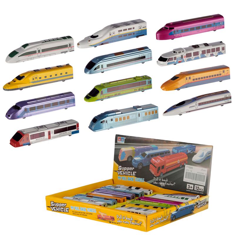 Fun Kids Pull Back Train Toy