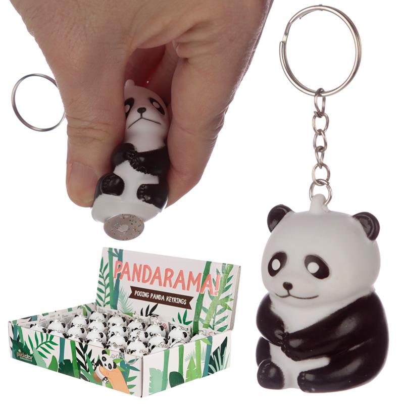 Fun Collectable Pooping Panda Keyring