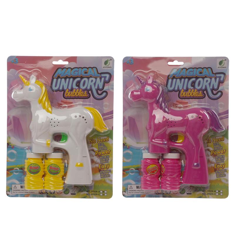 Fun Kids Magical Musical Unicorn Bubble Gun