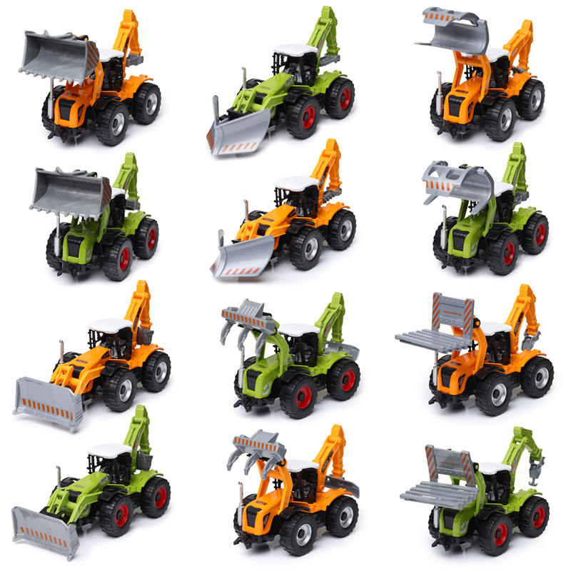 Fun Kids Diecast Tractor