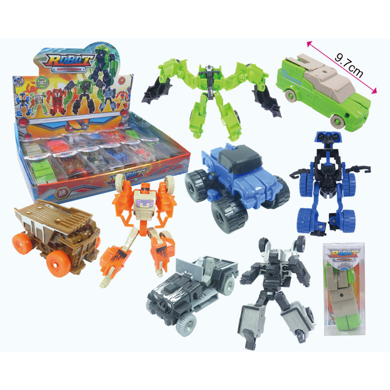 Fun Kids Robot Transformable Cars