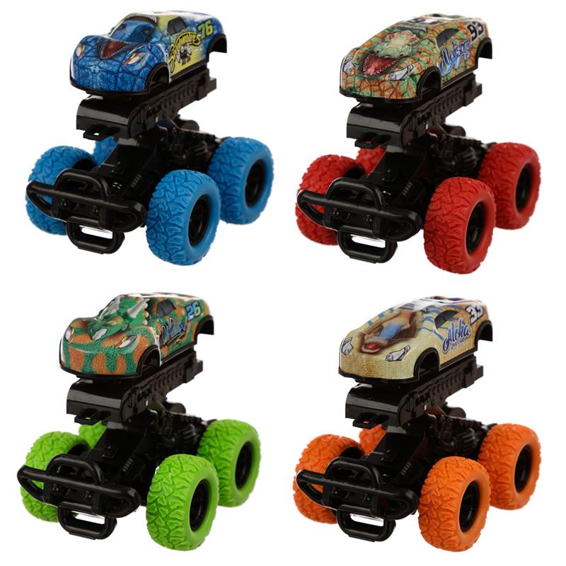 Fun Kids Friction Bump Animal Monster Truck