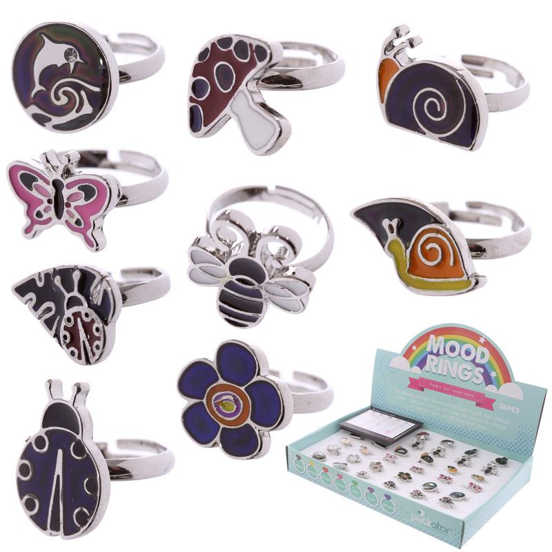 Cute Kids Designs Mood Ring, Children's Jewellery