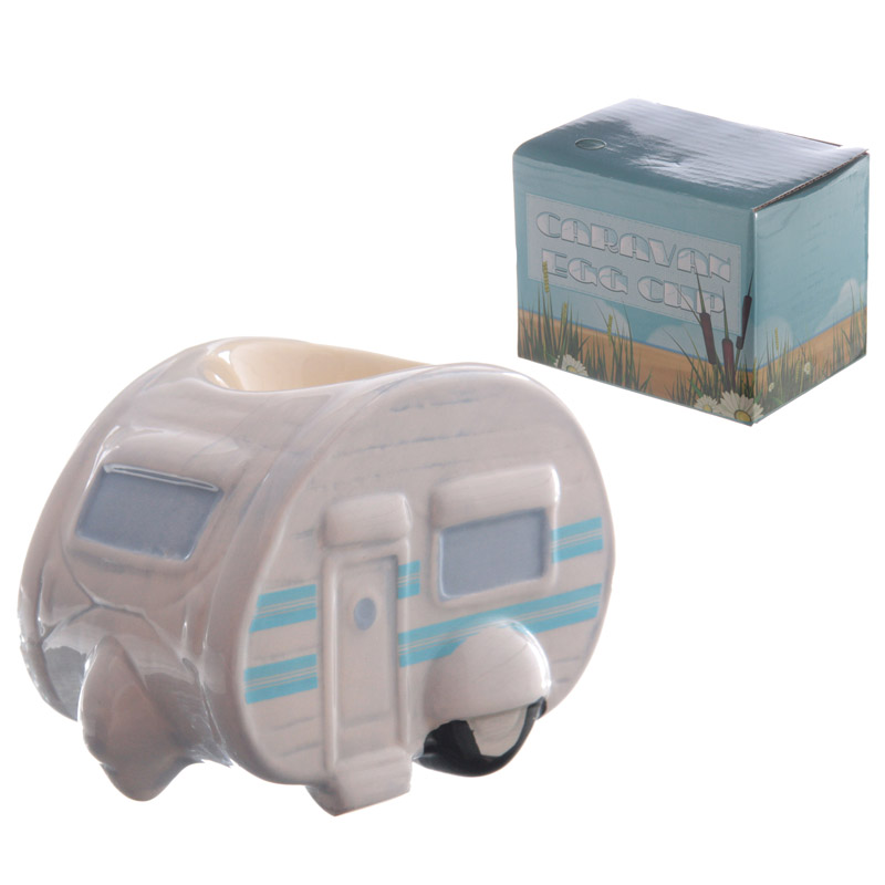 Novelty Ceramic Caravan Egg Cup