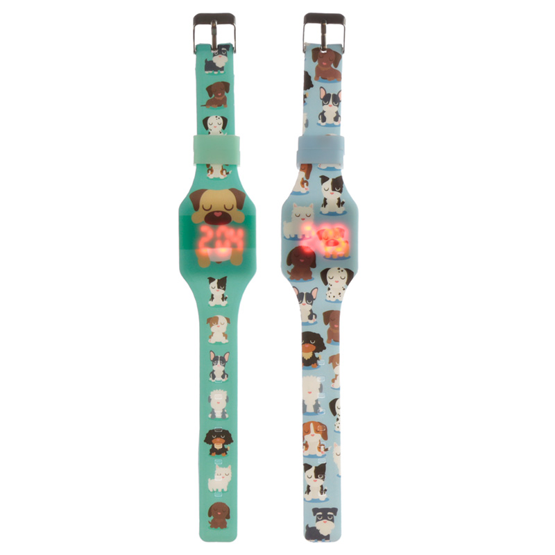Silicone Digital Watch Dog Squad