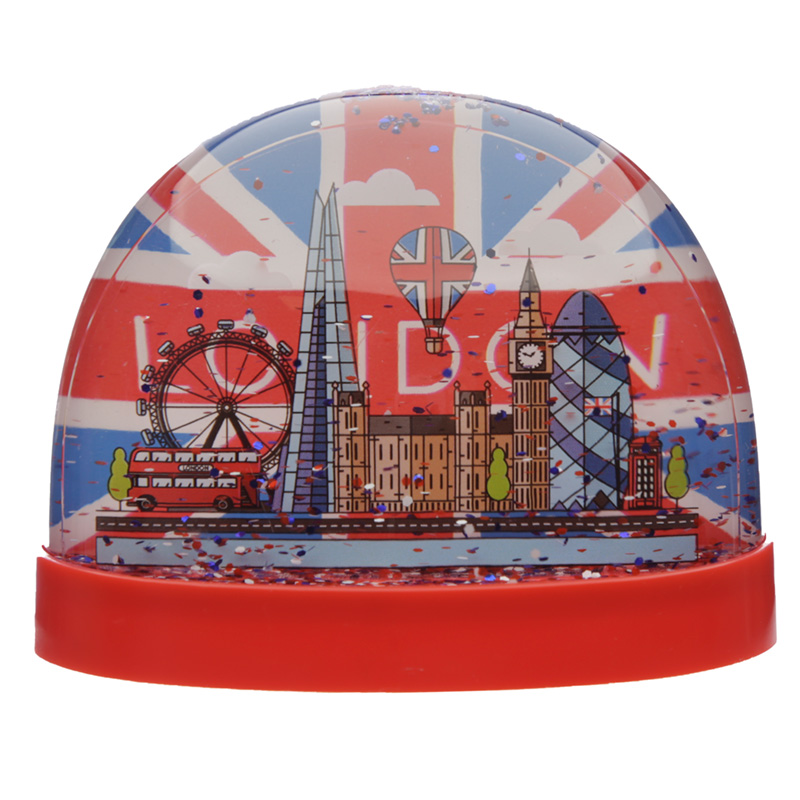 Collectable Snow Storm London Union Jack Large