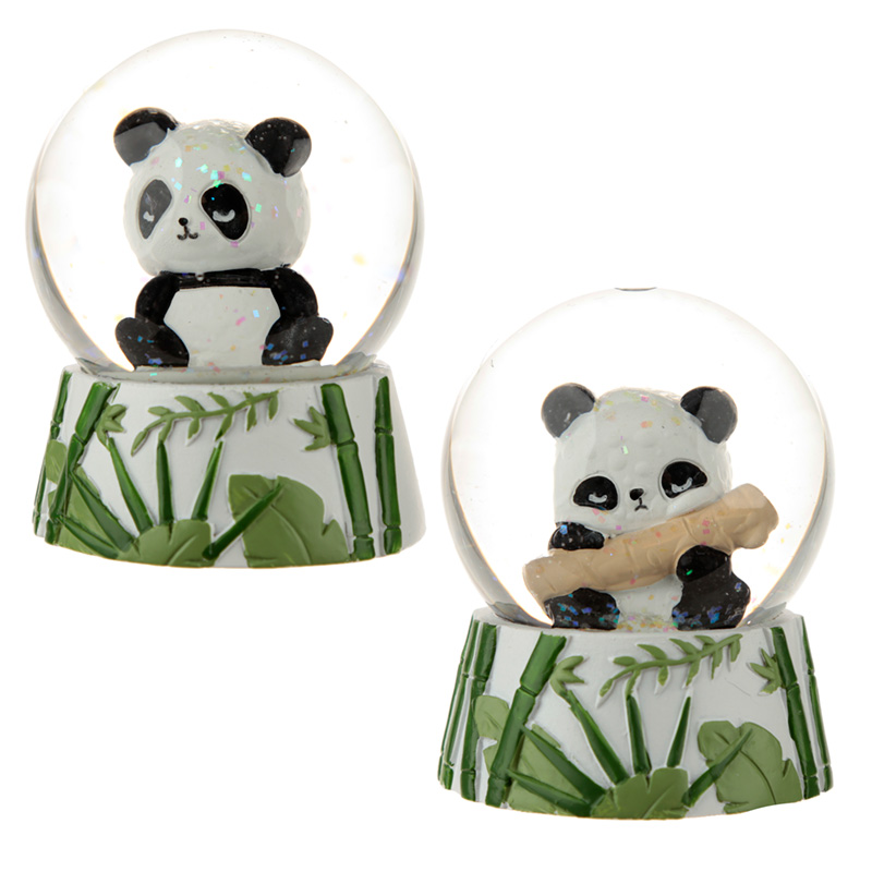 Novelty Collectable Panda Snow Globe