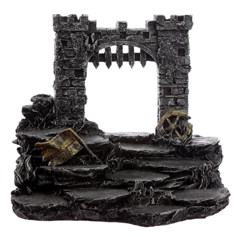 Castle Battleground Knight World Tiered Trinket Display Stand