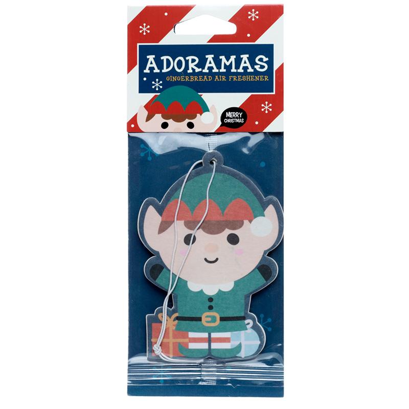 Christmas Cutiemals Elf Gingerbread Scented Air freshener