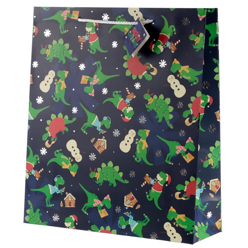 Dinosaur Extra Large Christmas Gift Bag