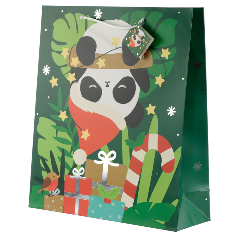 Panda Extra Large Christmas Gift Bag