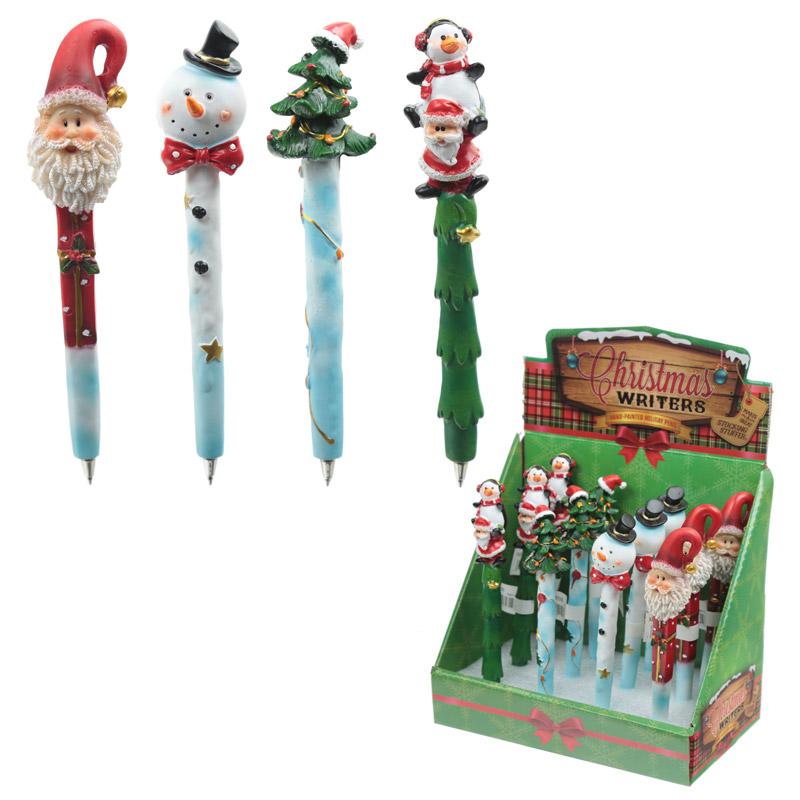 Festive Christmas Themed Novelty Pen