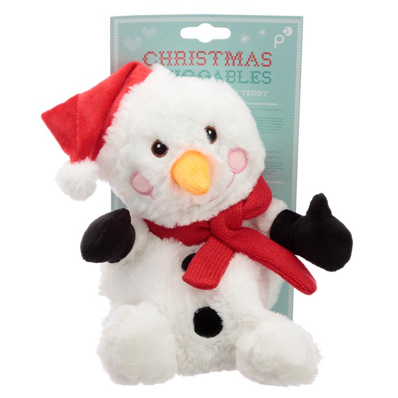 Christmas Snowman Microwavable Heat Wheat Pack
