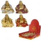 Lucky Glitter Buddha Mini Collectable Figurine