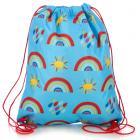 Handy Drawstring Bag - Rainbow
