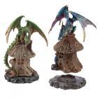 Forest Dweller Dark Legends Dragon Figurine