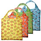 Handy Fold Up Cutiemals Shopping Bag with Holder