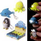 Cute LED Sealife Key Ring