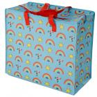 Fun Practical Laundry & Storage Bag - Somewhere Rainbow