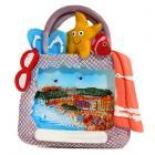Collectable Seaside Souvenir - Beach Bag Magnet