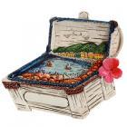 Collectable Seaside Souvenir - Treasure Chest Magnet