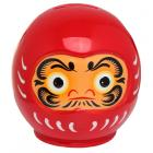 Collectable Ceramic Japanese Red Daruma Money Box