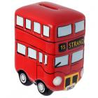 Fun Novelty Ceramic Red Routemaster Bus Money Box