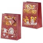 Meowy Christmas Simon's Cat Medium Christmas Gift Bag