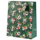 Panda Large Christmas Gift Bag