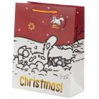 Simon's Cat Christmas 2020 Large Gift Bag